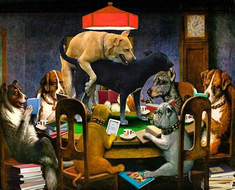 dogs playing poker wallpaper wallpapersafari