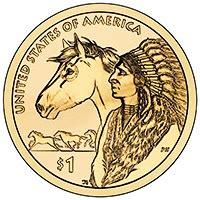 native american dollar 2009 present type set coin