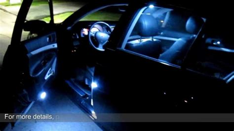 ijdmtoy direct fit led interior lighting package  infiniti  nissan youtube