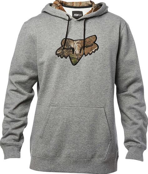 Fox Racing Diskors Mens Pullover Hoodies fox racing realtree pullover hoody mens fleece sweatshirt mx motocross hoodie ebay