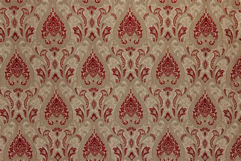red damask upholstery fabric damask chenille red the fabric mill