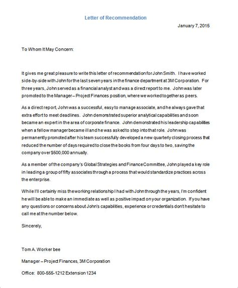 Recommendation Letter For Employer Doc Letter Templates 30 Free Word Excel Pdf Psd Format Free Premium Templates