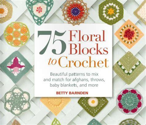 pattern book online crochetpedia crochet books online 75 floral blocks to