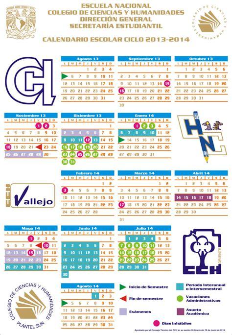 Calendario Escolar Unam Cch 2016 Calendario Portal Acad 233 Mico Cch