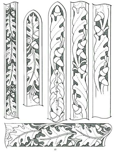 belt pattern leather tracing patterns traditional