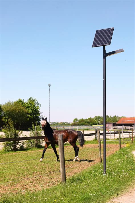 Naturg 229 Rden As Riding Stable With Special Solar Lighting Solar Lighting For Stables