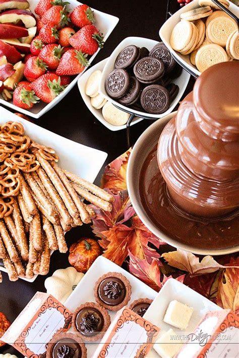 chocolate ideas for weddings bringing back