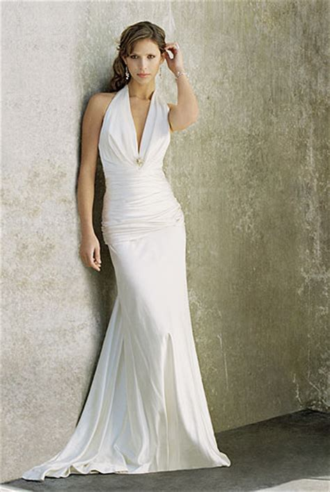 of dress clothes fashion simple wedding dress - Hochzeitskleid Einfach