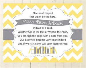 poem for baby shower book instead of card request etsy