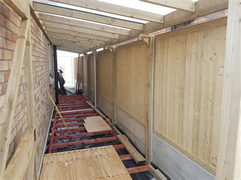 lean  shed donabate dublin   lean  shed