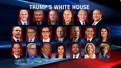 cabinet of donald trump an administration of losers
