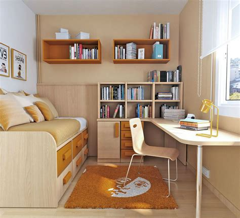 small teen room utilizing small bedrooms for teenagers interior