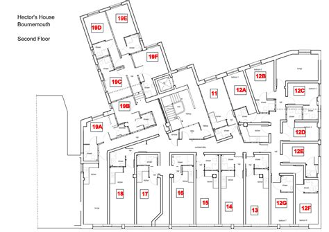 Courtyard Homes second floor layout
