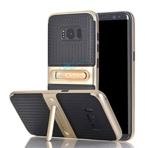 Carbon Galaxy S8 S8 Plus carbon fiber shockproof hybrid cover for samsung