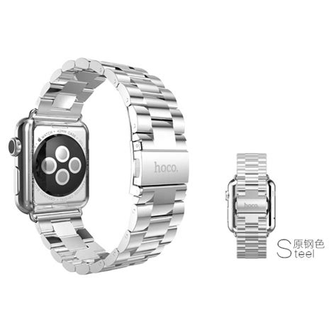 Hoco 3 Pointer Style Stainless Steel Band For Apple 38mm Serie 1 hoco 3 pointer style stainless steel band for apple