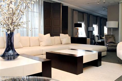 luxury furniture retail store interior design donghia