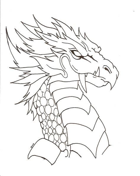 imagenes de leones y dragones dragones para colorear infantiles feroces y estilizados