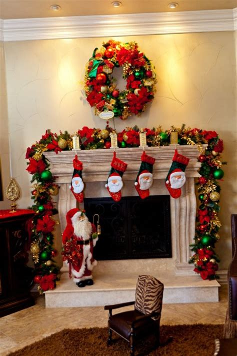 elegant fireplace christmas decorating ideas fireplace decorations this year for more and warmer interior design