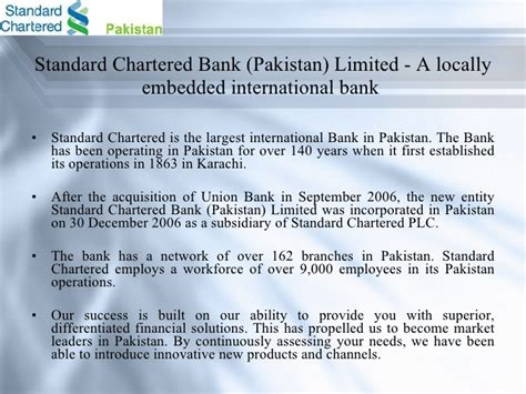what is a chartered bank standard chartered bank