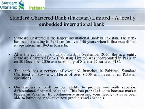 scb bank pakistan standard chartered bank