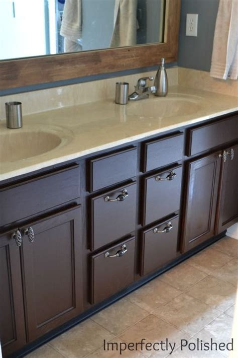 stain bathroom cabinets best 25 minwax gel stain ideas on pinterest gel stains