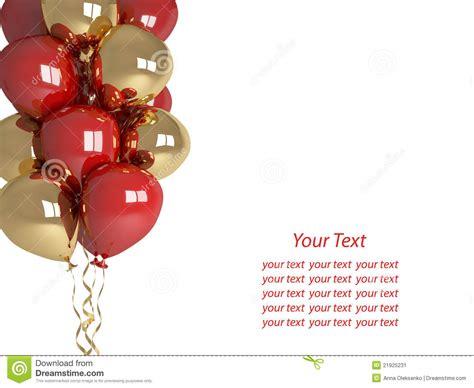imagenes en blanco de cumpleaños globos del feliz cumplea 241 os aislados en el saludo blanco