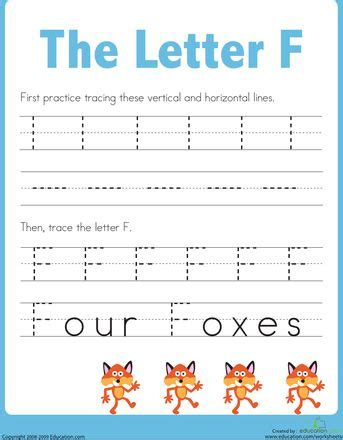 printable tracing letter f practice tracing the letter f the alphabet free