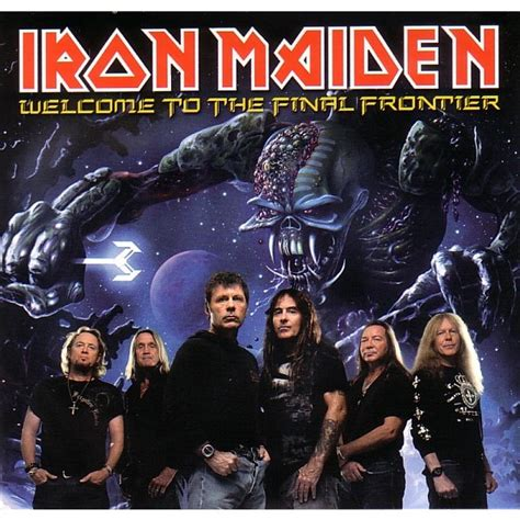 Cd Original Iron Maiden The Frontier welcome to the frontier de iron maiden cd x 2 chez