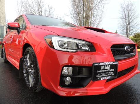 Subaru Wrx Warranty by Used 2016 Subaru Wrx Sti 6 Speed Factory Warranty