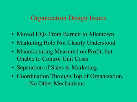 design issues ppt types of change powerpoint presentation id 189867