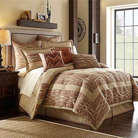 desert ridge comforter set  terracotta bed bath