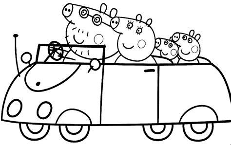 imagenes para pintar online dibujos para colorear peppa pig imprimir online bonitos