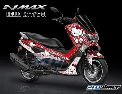 Sticker Striping Motor Stiker Yamaha Soul Gt Merah Spec A 1 stiker motor yamaha nmax warna merah desain kartun hello