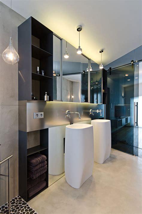 bathroom sinks concrete interior design in osice czech