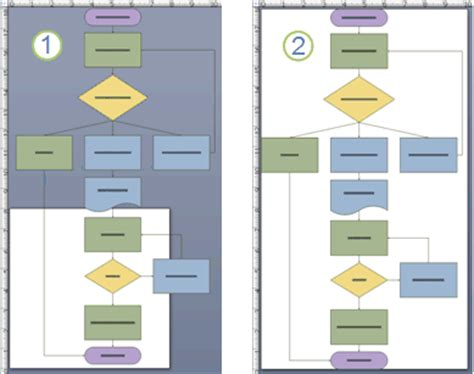crearea unei scheme logice elementare visio