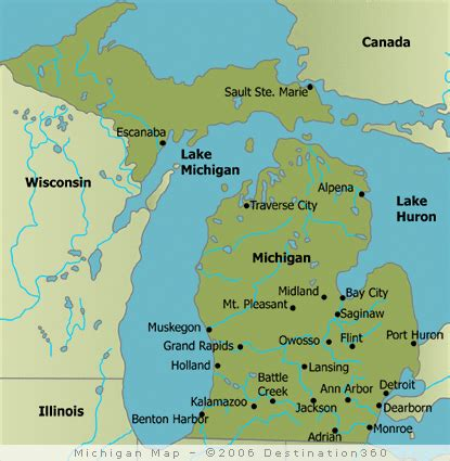 michigan state map reviews of casino map of casinos in wisconsin