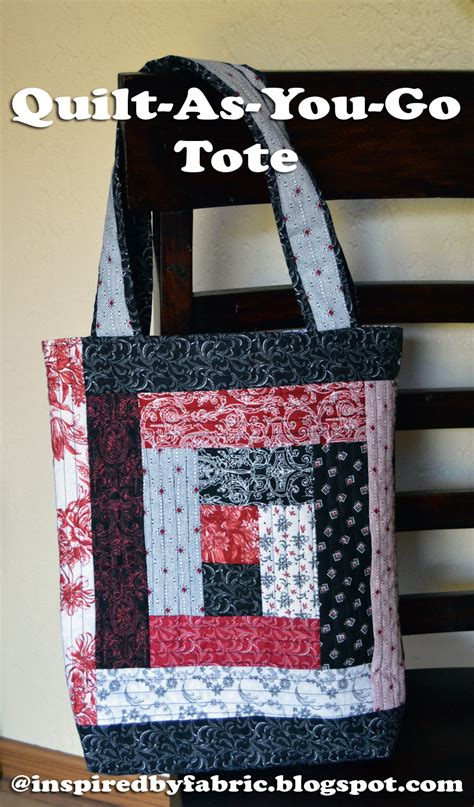 You To See Quilt As You Go Bag Tutorial On Craftsy - inspired by fabric summer of sewing quilt as you go tote