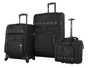 Steve Madden Underseat Spinner by Steve Madden Luggage 3 Softside Spinner Suitcase Set Collection Review 2018 Luggage Spots