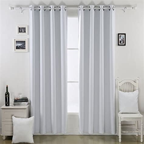white blackout curtains 84 deconovo thermal insulated blackout curtains for bedroom
