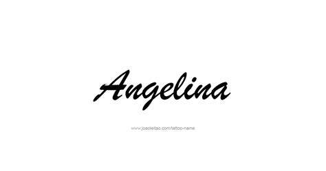 name meaning angelina tarsitano