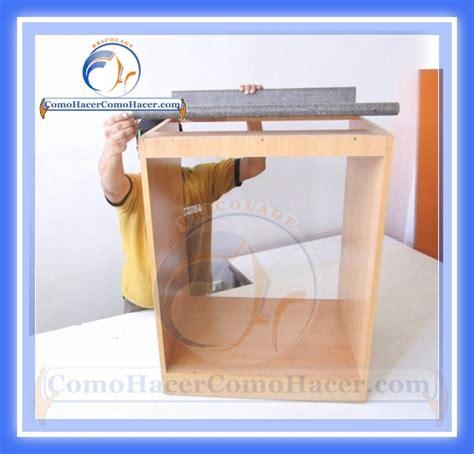 unir encimera de madera as 237 de facil se hace un mueble para la cocina taringa