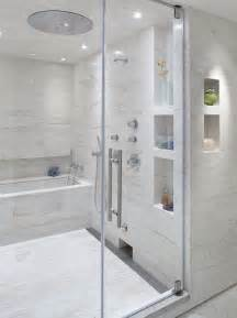 Bathroom Nice Love The Built Ins And The Tub Inside The Shower Plus The