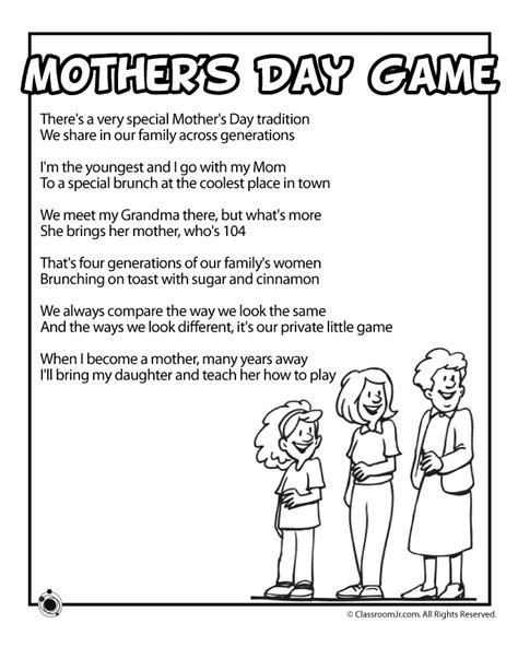 printable mother s day games for adults mother s day printable games bing images