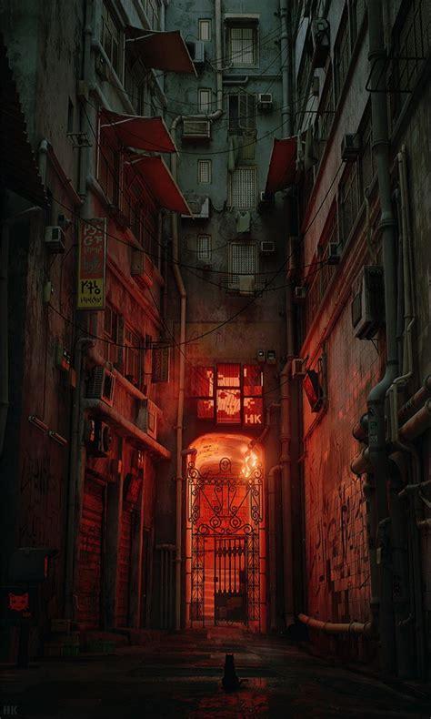 Gamis C 03 ネコになって九龍城っぽい巨大な廃墟の中をウロウロできるゲーム hk project が開発中 dna