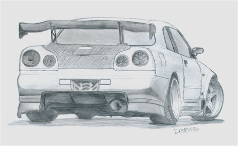 drift cars drawings outline drawing of drift cars cliparts co