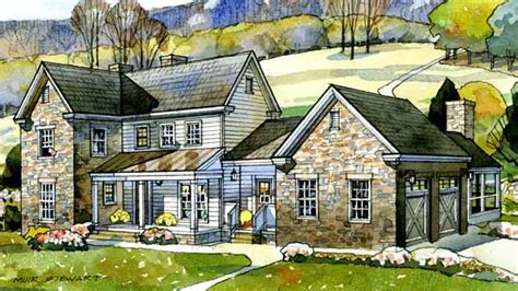 farmhouse plans southern living valley view farmhouse new south classics llc print