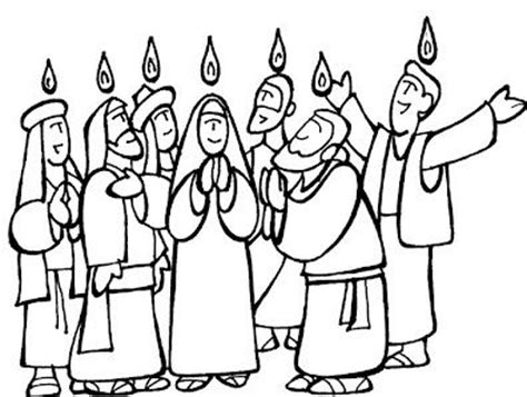 pentecost coloring pages printable coloring pages