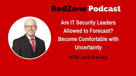 how to become comfortable with your uality are it security leaders allowed to forecast become