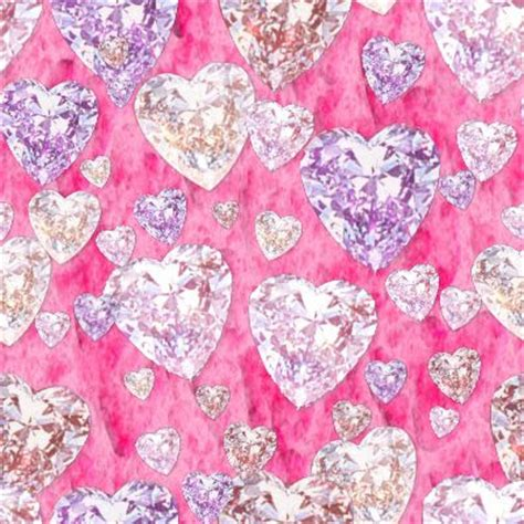 diamond pattern pink wallpaper art with starfields pink diamonds