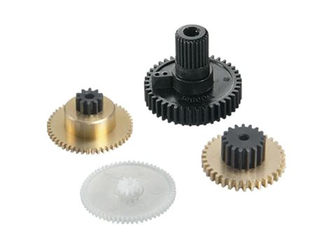 Gear Setgir Set Tiger 1 rc ruberkon aq1498 gear set ace s1903mg servo
